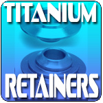 Titanium Retainers for GS1000 at Dynoman